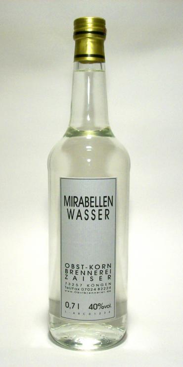 Mirabellenwasser